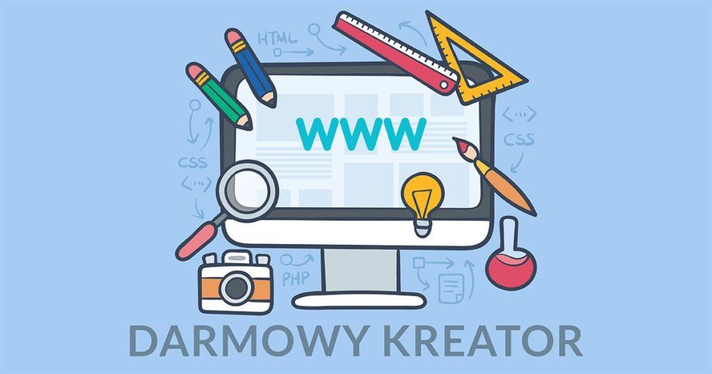100% Darmowa Strona Internetowa – kreator Bez Reklam i Haczyków