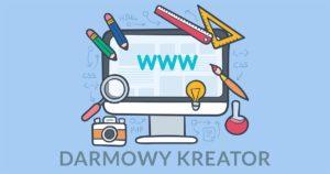 100% Darmowa Strona Internetowa w kreatorze bez reklam